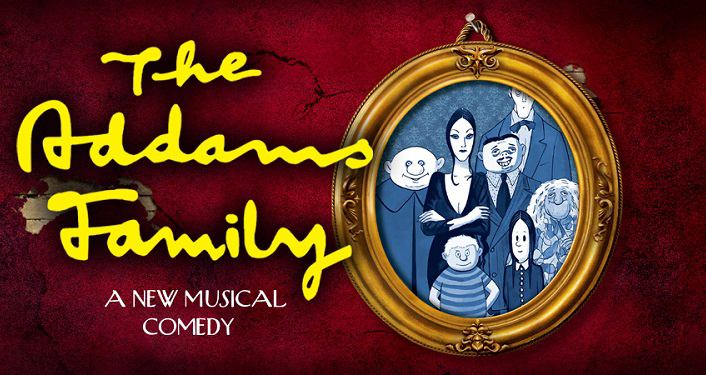 Addams Family Musical Logo